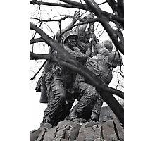 Iwo Jima Memorial through the Trees Photographic Print