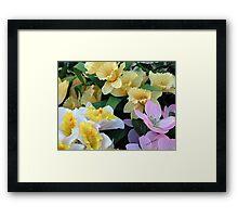 TriColor Framed Print