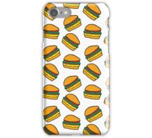 Berger - WHITE iPhone Case/Skin