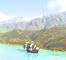 Skirting the Coast by AxeSwipe