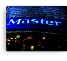 Master Canvas Print