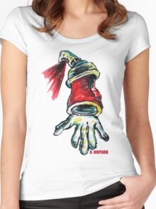 Krypto  Women's Fitted Scoop T-Shirt