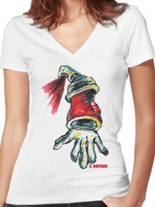 Krypto  Women's Fitted V-Neck T-Shirt