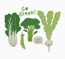 Go Green! (Leafy Green!) Kids Clothes