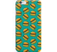 Berger - TURQUOISE iPhone Case/Skin
