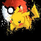 Pika Smash by scribbleworx