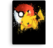 Pika Smash Canvas Print