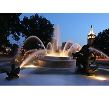 The Plaza Kansas City Mo Photographic Print