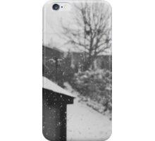 Monochromatic Snow iPhone Case/Skin