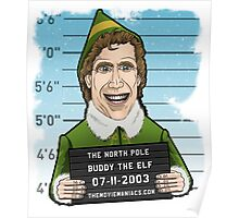 Buddy the Elf - Line Up Poster