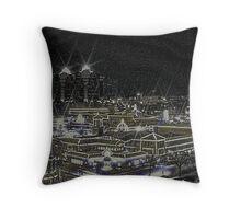 Country Club Plaza Kansas City Mo Throw Pillow