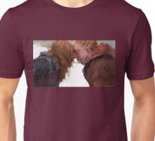 Irisa and Cai with the Keys Unisex T-Shirt