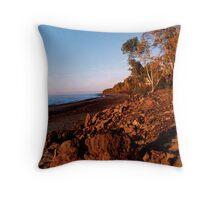 Gentle Shore Throw Pillow