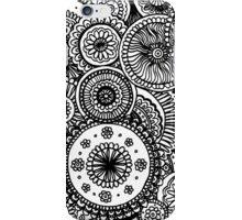 Circles Doodle #1 iPhone Case/Skin