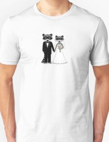 Raccoons Wedding T-Shirt