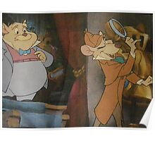 Disney Great Mouse Detective Disney Sherlock Holmes Poster