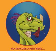 No Dragonslayers here... by Simon Sherry