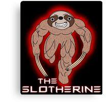 The Slotherine Canvas Print