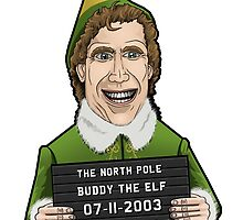 Buddy the Elf - Mugshot by TheMovieManiacs