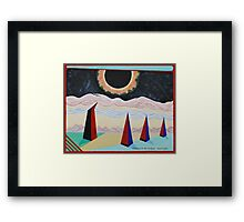 Witness to the Eclipse Framed Print