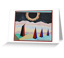 Witness to the Eclipse Greeting Card