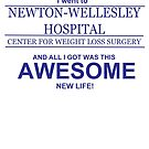 NWH Awesome New Life - navy logo by Jeff Newell
