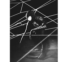 The Amazing Black Suit Spider-Man Photographic Print