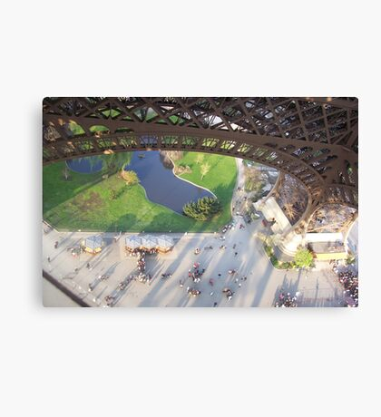 Eiffle Tower, Paris -France Canvas Print