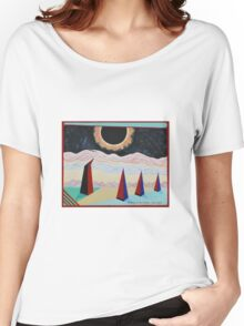 Witness to the Eclipse Women's Relaxed Fit T-Shirt