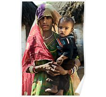 Bishnoi mother and son Poster