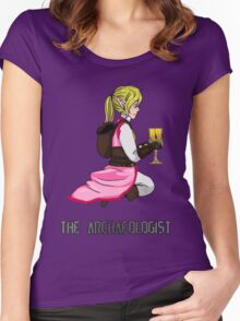 The Haunted - Mia: The Archaeologist Women's Fitted Scoop T-Shirt