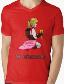 The Haunted - Mia: The Archaeologist Mens V-Neck T-Shirt