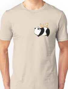 A Panda, a Cat and a little girl Robot T-Shirt