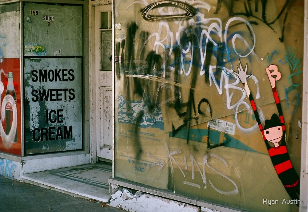 smokes, sweets & ice cream by Ryan  Austin