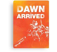 The Dawn Has Arrived - Leona Canvas Print