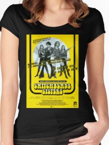 Switchblade Sisters Women's Fitted Scoop T-Shirt