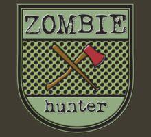 Zombie hunter shield logo by puppaluppa