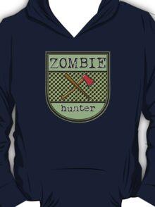 Zombie hunter shield logo T-Shirt