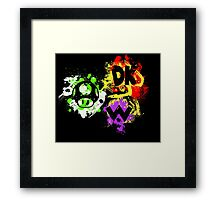 Smash Bros. The Mario Gang Framed Print