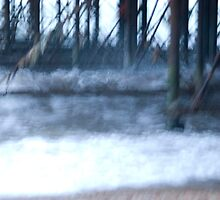 water under pier by ruth angus