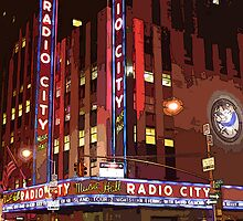 radio city music hall by safariboy
