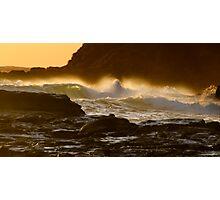 Sunrise Spray Photographic Print