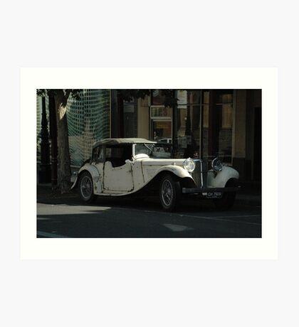 Old Car in Bendigo II Art Print