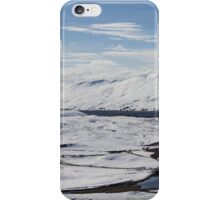Scottish Highlands in Winter iPhone Case/Skin