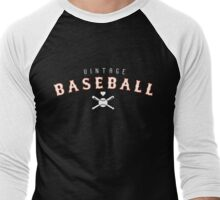 Vintage Base Ball Logo Men's Baseball ¾ T-Shirt