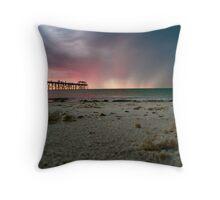 Grange Sunset Throw Pillow