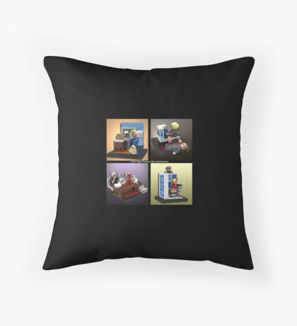 When Lego Goes Wrong (Number 001) Throw Pillow