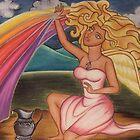 Iris - The Rainbow Goddess by vivianne