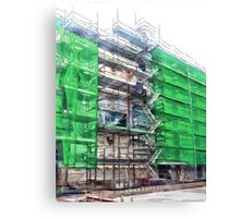 Clothed in Green   Canvas Print