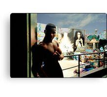 Graffitti Hall of Fame  Canvas Print